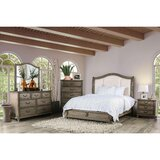 Zanuck Upholstered Standard Configurable Bedroom Set by Red Barrel Studio