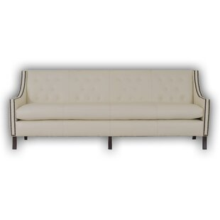 Woburn Leather Chesterfield Sofa by Westland and Birch