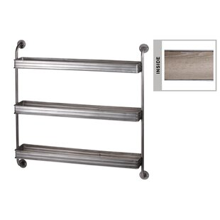 Fia Metal Rectangle Wall Shelf by 17 Stories