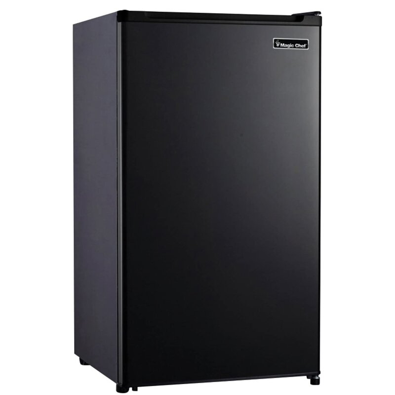 Magic Chef 4 4 Cu Ft Freestanding Mini Fridge With Freezer Reviews Wayfair How to use magic chef mini fridge 3.5 cubic feet model hmbr350se1 price check: 4 4 cu ft freestanding mini fridge with freezer