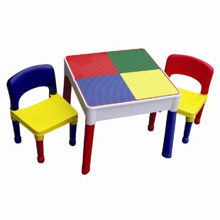 Conder Children's 3 Piece Rectangular Table and Chair Set by Zoomie Kids