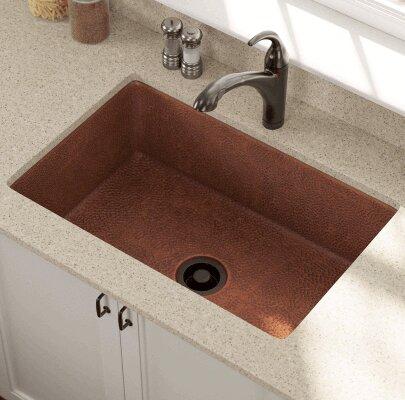 Polaris Sinks 33 L X 22 W Single Bowl Undermount Kitchen Sink Wayfair