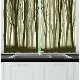 Sage Green Kitchen Curtains | Wayfair
