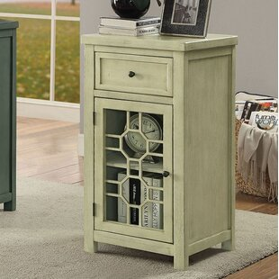 Morrison End Table with Storage by Canora Grey
