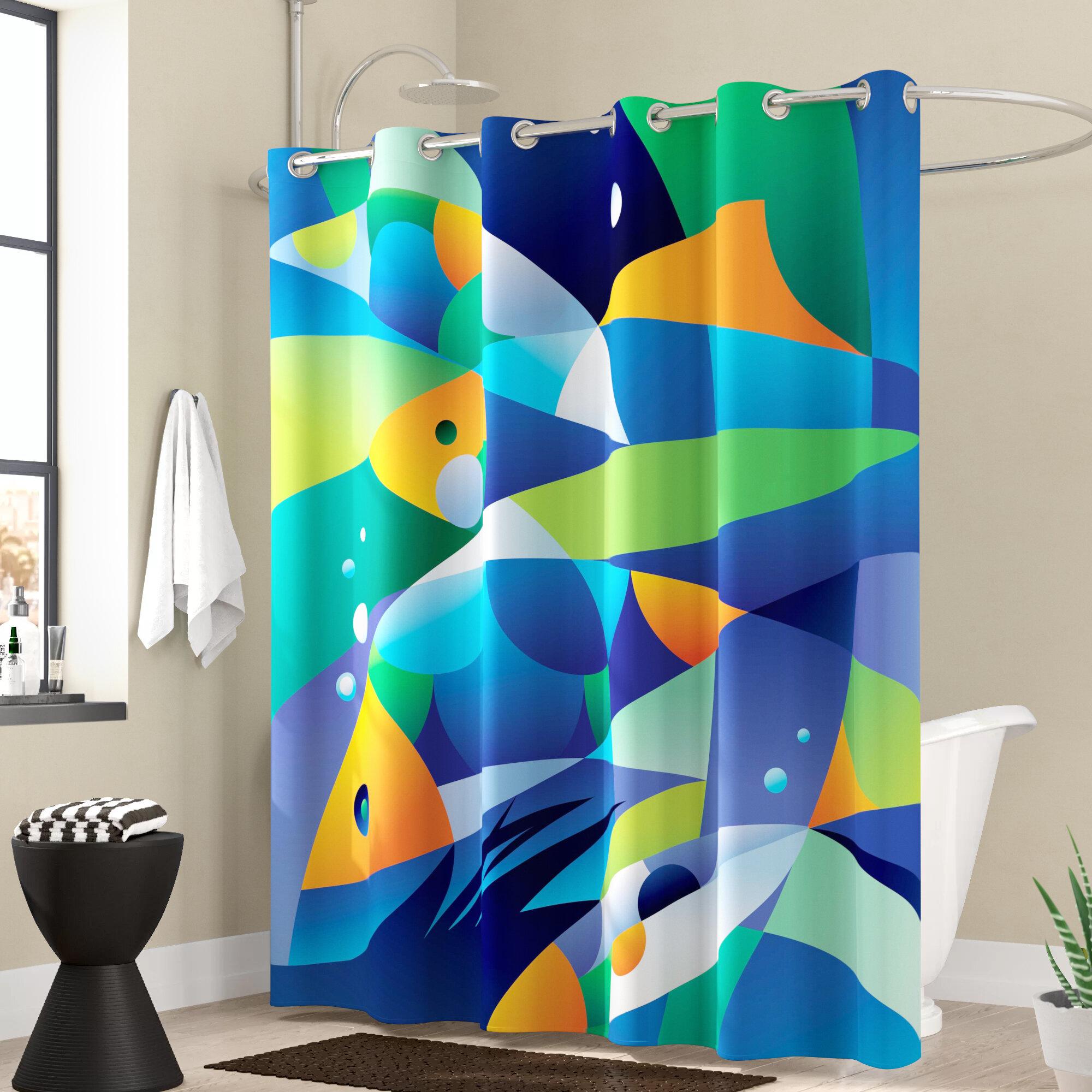 India Ink Beach Cottage Shower Curtain Hooks Nautical FREE SHIPPING