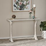 44.25 Solid Wood Console Table by Rosalind Wheeler