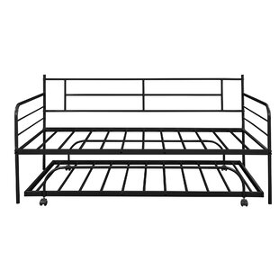 Chartamique Twin Daybed Frame with Trundle