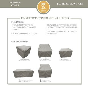 Florence 8 Piece Patio Furniture Cover Set