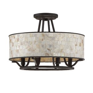 Eddington 4-Light Semi Flush Mount