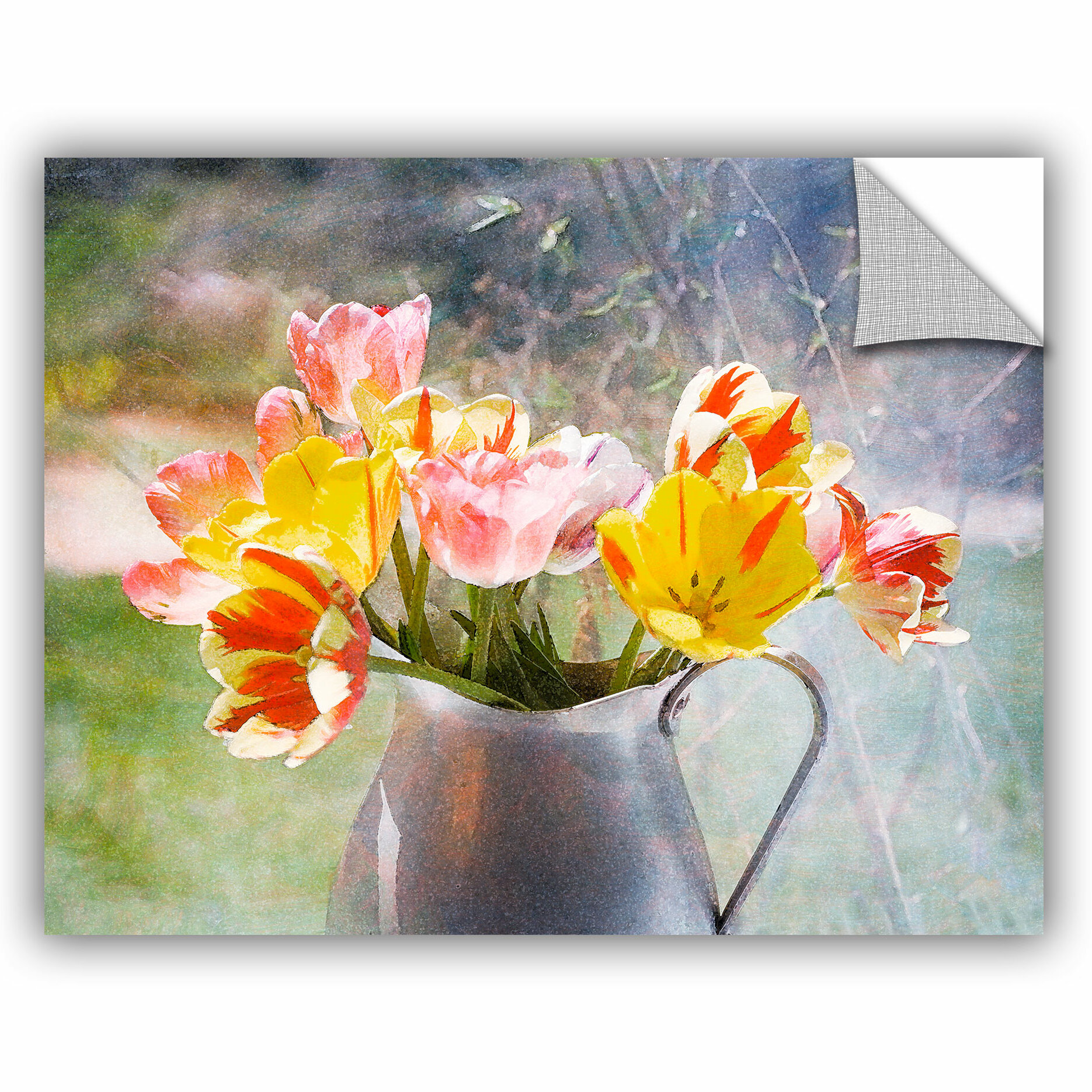 Artwall Judy Stalus Rembrandt Tulips Removable Wall Decal Wayfair