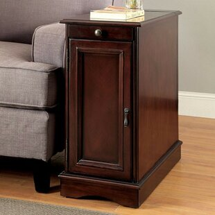 Ellett Sleek End Table with Storage