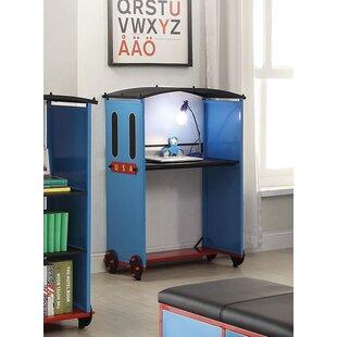 Nala Train 35 W Writing Desk by Zoomie Kids