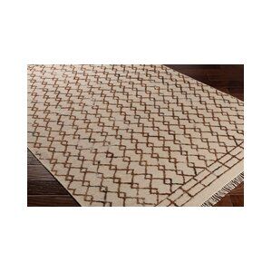 Hassani Hand-Woven Neutral/Brown Area Rug