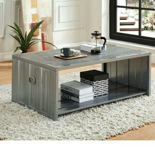 Wayne Wooden Box Coffee Table by 17 Stories SKU:CA502716 Check Price