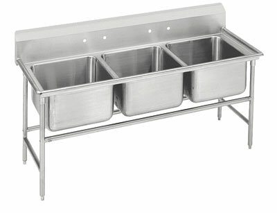 Advance Tabco 940 Series 58 X 27 Free Standing Service Sink Wayfair