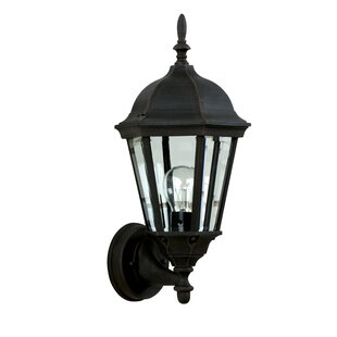 Oakhill Glass 1-Light Outdoor Sconce By Charlton Home Outdoor Lighting