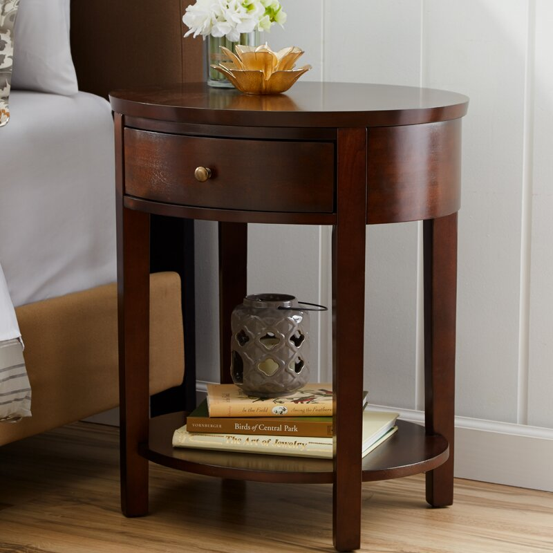 Three Posts Canterbury End Table With Storage Amp Reviews