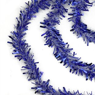 Blue Christmas Garlands You Ll Love In 2019 Wayfair