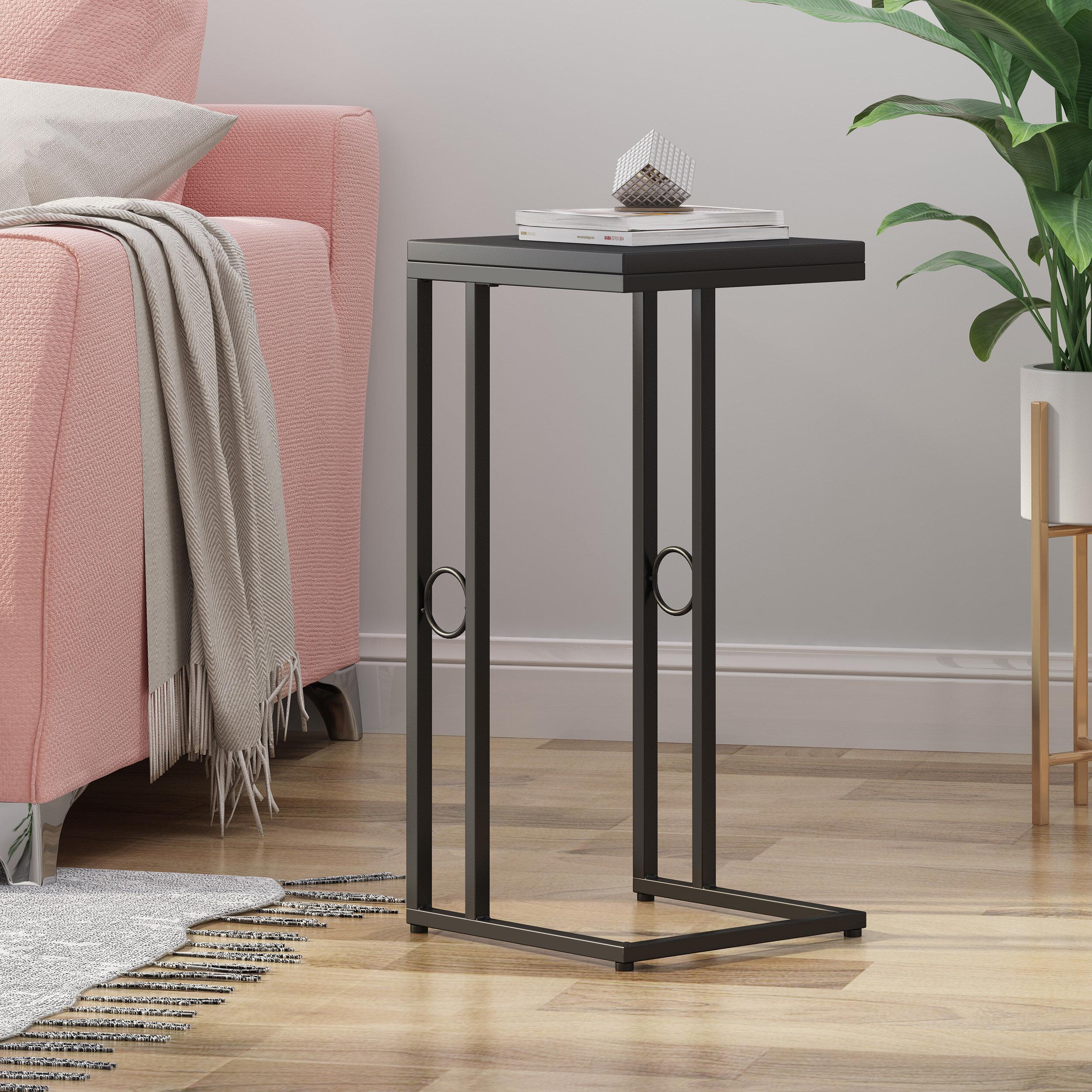 Ebern Designs Ava Modern Faux Wood End Table Reviews