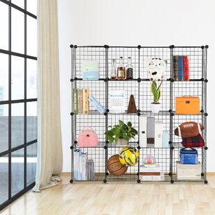 Fitzpatrick 6 Cube Corner Unit Bookcase by Rebrilliant Modern