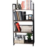 Lakefield 49.4'' H x 23.6'' W Metal Etagere Bookcase by 17 Stories