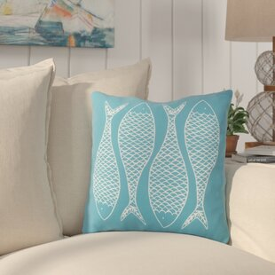 Cannaday Fabulous Fish Outdoor Throw Pillow