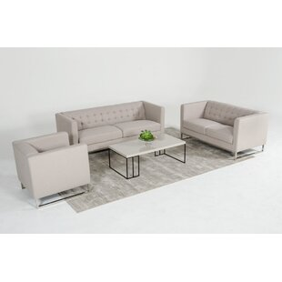 Alsatia 3 Piece Living Room Set by Wade Logan