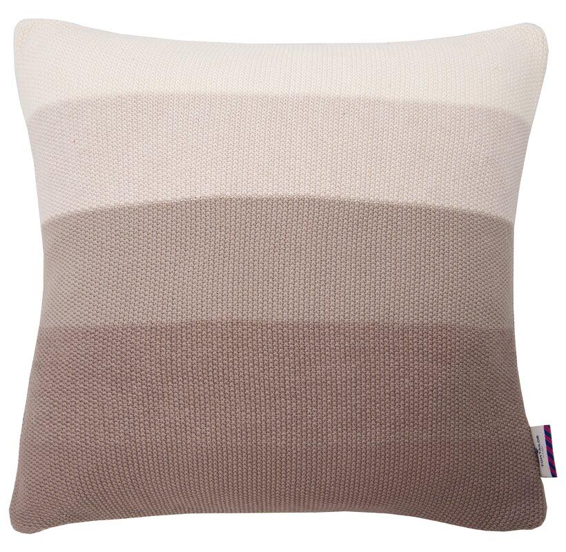 tom tailor kissenh lle strick t knitted stripes bewertungen. Black Bedroom Furniture Sets. Home Design Ideas