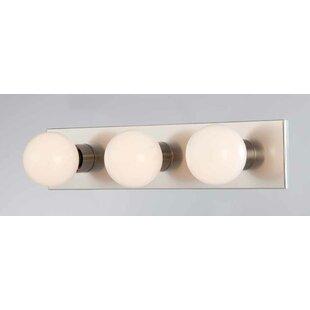 Deals 3-Light Bath Bar By Volume Lighting