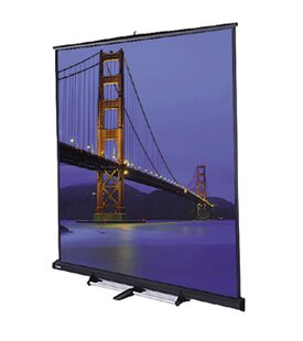 Model C Matte White Portable Projection Screen