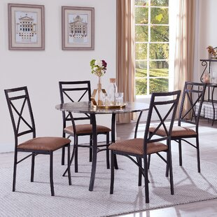 Reidsville 5 Piece Dining Set by Fleur De Lis Living Herry Up