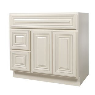 Chateau 36 Single Bathroom Vanity Base Only By NelsonCabinetry
