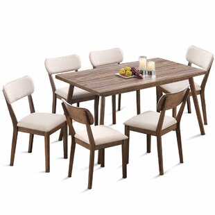 Eberhart 7 Piece Dining Set George Oliver