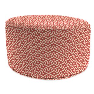 Culberson Bead Fill Pouf Ottoman with Cushion