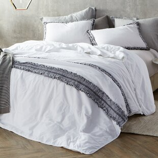 Shanell Washed Percale Quilted Comforter