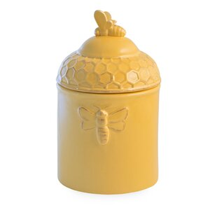 Honeycomb Goody Cookie Jar by August Grove Discount