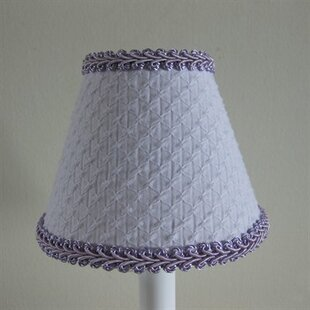 Shop For Slightly Lightly Lavender 11 Fabric Empire Lamp Shade By Silly Bear Lighting