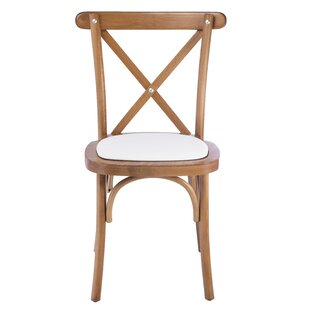 Gambrel Solid Wood Dining Chair (Set of 2) August Grove