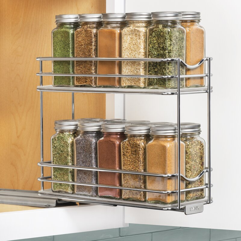 Professional® Slide Out Under Cabinet 20 Jar Spice Rack