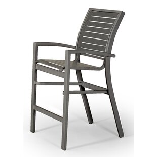Kendall Contract Strap Stacking Patio Bar Stool