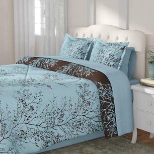 Kulshan 8 Piece Reversible Comforter Set