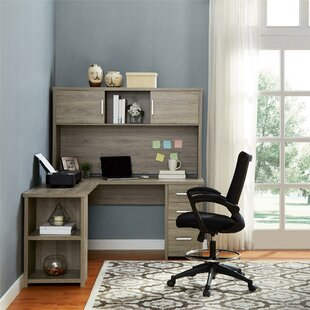 Jovenko 3 Piece L-Shape Desk Office Suite by Comm Office Today Sale Only