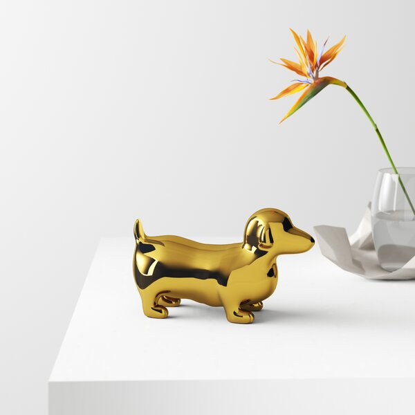 DACHSHUND laundry picture dog animal art tile coaster gifts