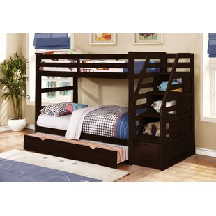 Bodkin Twin Over Twin Bunk Bed with Trundle and Storage by Mack & Milo