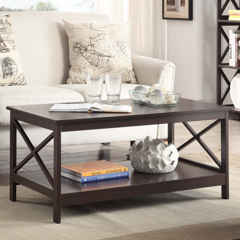 Beachcrest Home Stoneford 3 Piece Coffee Table Set Reviews Wayfair