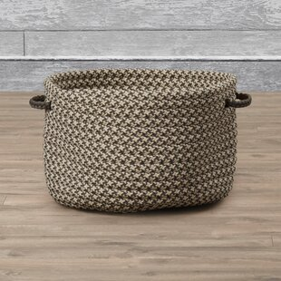 Budget Outdoor Tweed Storage Basket By Gracie Oaks