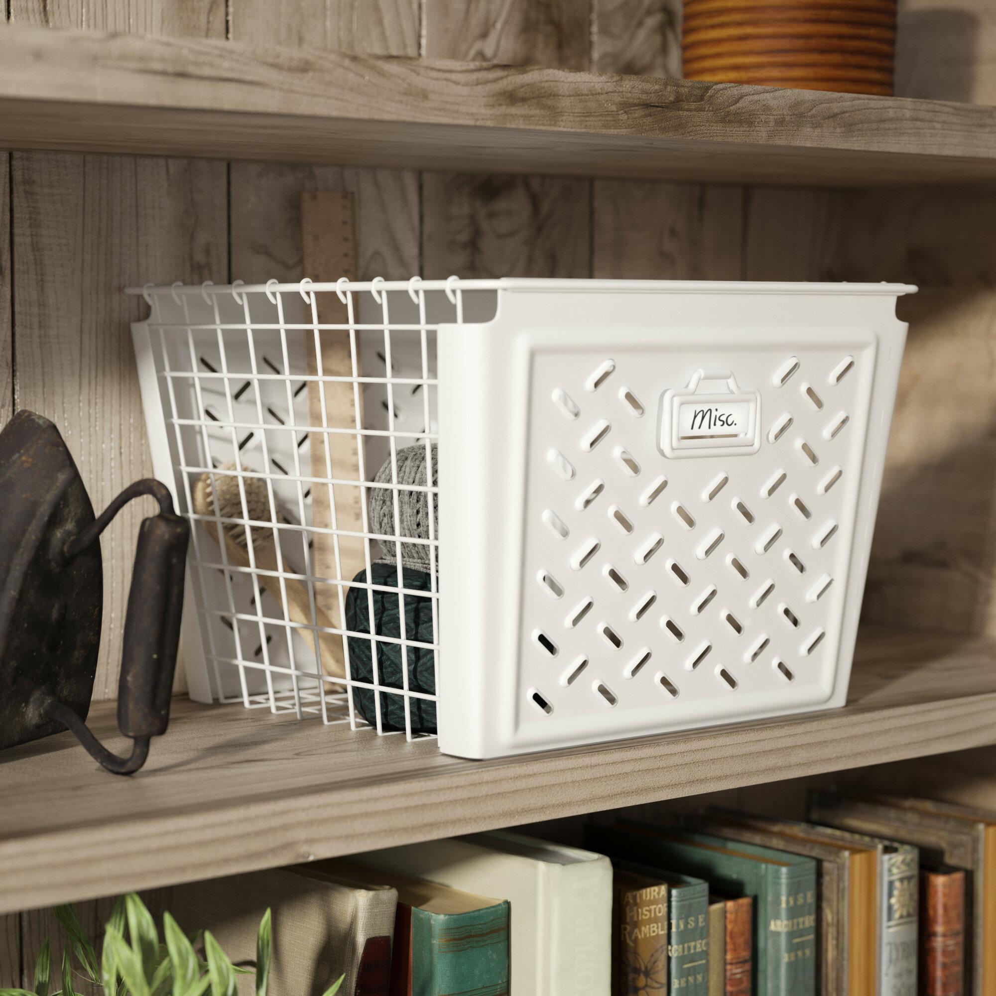 Large Basket For Blankets Wayfair