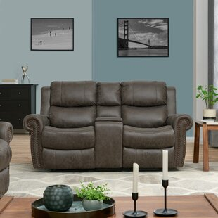 Rolled Arm Home Theater Loveseat Row of 2