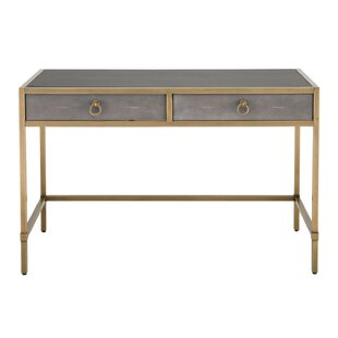 Top Reviews Ormside Shagreen Writing Desk By Gracie Oaks
