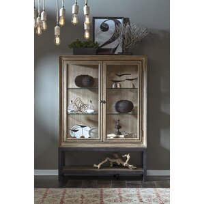 Fort Oglethorpe Lighted China Cabinet by Laurel Foundry Modern Farmhouse